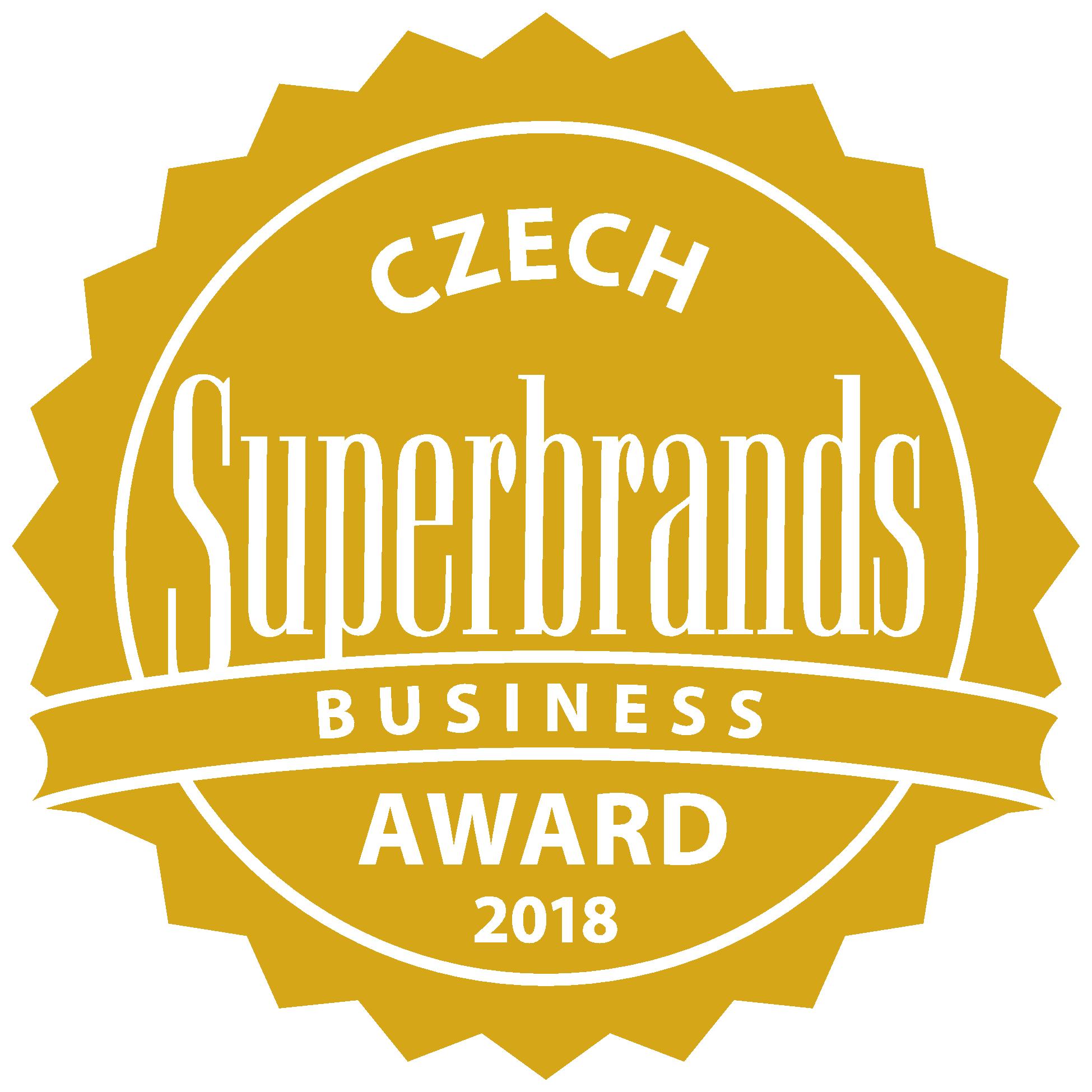 Dostali jsme ocenění Superbrands