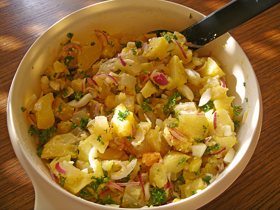 Bramborový salát - jde to i bez majonézy